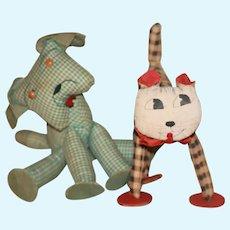 HM Cat, Dog Stuffed Toys