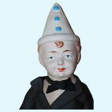 AO Paper Mach Clown Pierrot 13 inches