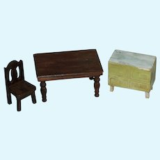 Deco Doll Furniture Dining Rm