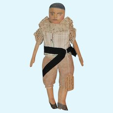 1937 Wood Poppet Doll  w/Provenance