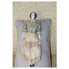 1840s-50s All Original China Doll