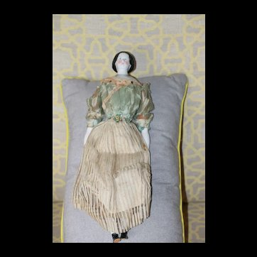 1840s-50s All Original China Doll