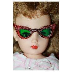 Pink Glitter Lucite Sunglasses for Miss Revlon Doll