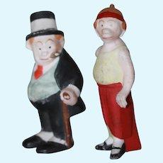 Antique Bisque Maggie & Jiggs Dolls