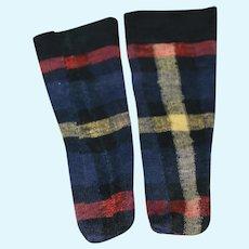 Vintage Socks for Bisque, Composition Doll