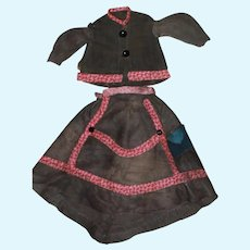 1860s Dress for Antique China Doll