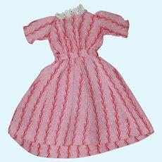 1860s Fashion Dress China, Bisque Doll