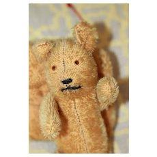 Antique Doll Size Teddy Bear Muff