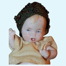 Miniature Flapper Hat for Antique Doll
