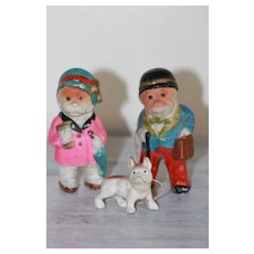 Best Antique Japanese Bisque Dolls w/Incised Symbol