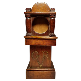 Antique Pocket Watch Holder Grandfather clock form