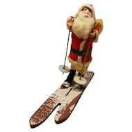 Sweet Vintage Santa Claus on Skii's