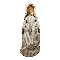 Wonderful Early Black Cloth Doll