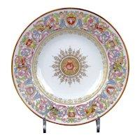 10 Sevres-Style St. Cloud Soup Plates