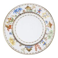 Le Tallec for Tiffany Cirque Chinois Salad or Dessert Plate