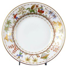 Le Tallec for Tiffany: Cirque Chinois Hand-Painted Soup Plate