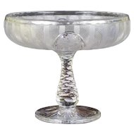 Hawkes Engraved Compote
