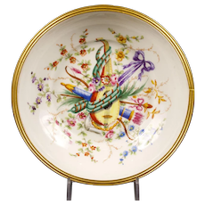 Le Tallec Hand-Painted Bowl, Paris, France