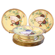 Antique Minton Aesthetic Movement Dessert Service