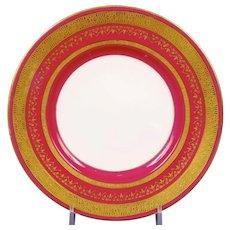 12 Minton for Tiffany Small Magenta Plates