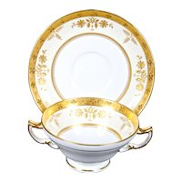 8 Minton for Tiffany Cream Soups, England