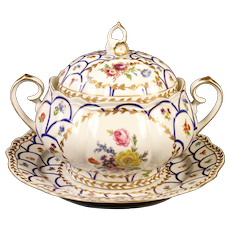Paris Royal Hand-Painted Soup Tureen