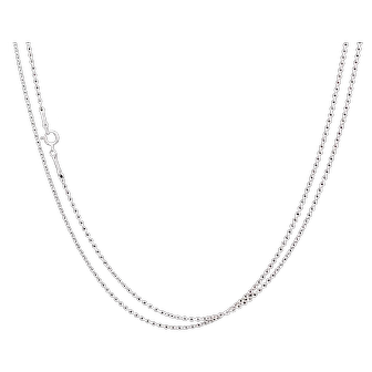 Tiffany & Co. Elsa Peretti Spain Sterling Silver Long Link Chain Mint Condition