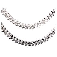 50% Off! Crown Trifari Liquidy Links Necklace & Bracelet