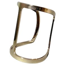 50% Off BCBGMAXAZRIA Large Open T Bar Cuff Bracelet