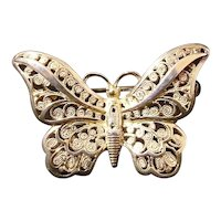 30% Off Alice Caviness Sterling Germany Butterfly Brooch