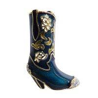 Barbara Mandrell Western Cowboy Boot Brooch Mint