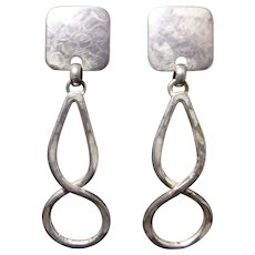 Marjorie Baer San Francisco Sculptural Dangle Earrings
