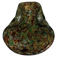 Vintage Mid Century Modern Hand Blown Murano Multi-Color Candy Dish / Ash Tray - Millefiori