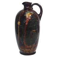 Rare Royal Doulton Ceramic Dewar's Whisky Tony Weller Jug, England, Ca 1920.