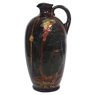 Rare Royal Doulton Ceramic Dewar's Whisky Tony Weller Jug, England, Ca 1920.