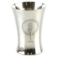 Silver Wine Cup / Beaker, Netherlands, 1911.
