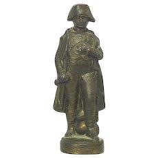 Napoleon Bonaparte Miniature Bronze Sculpture, France, Ca 1900.