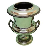 Old Sheffield Plate Wine Champagne Bottle Cooler Sheffield Ca 1820.