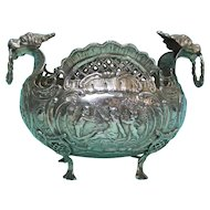 Rare 18th Century German Silver Bowl, Augsburg, Germany.