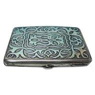 Sterling Silver Aide Memoire / Card Case, Sampson Mordan, London, 1894