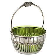 WMF Silver Plated Sugar Basket Germany Circa 1910