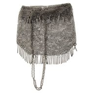 Russian Silver Mesh Purse Handbag, 1908-1917.