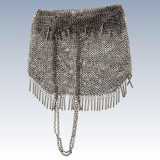 Russian Silver Mesh Purse Handbag, 1908-1917.