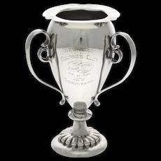 American Sterling Silver Presentation Trophy, George W. Shiebler, New York, 1876-1910.