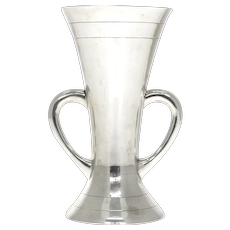 Edwardian Sterling Silver Loving Cup Goldsmiths and Silversmiths London 1906