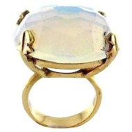 14k Yellow Gold & Opalite Ring