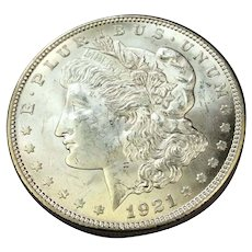 1921 Morgan Dollar MS63 Philadelphia Mint
