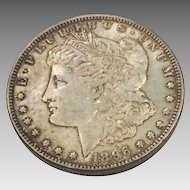 1896 Morgan Silver Dollar VF-20+ Philadelphia Mint