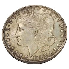 1896 Morgan Silver Dollar VF-20+ Philadelphia Mint