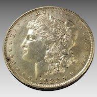 1883 O Morgan Silver Dollar AU-58+